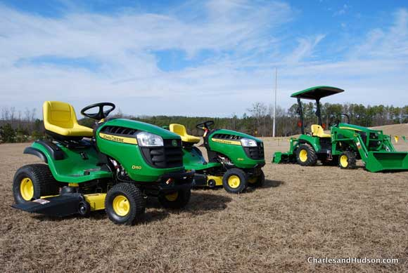 These mowers and tractors are geared towards people who don't make money