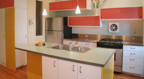 laminate kitchen panels Add Color with High Pressure Laminate Panels