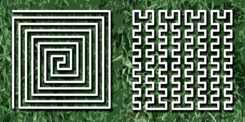 Create a Lawn Mower Maze
