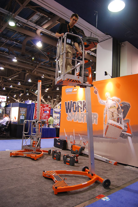 liftpod ladder Last Minute Products from 2010 National Hardware Show