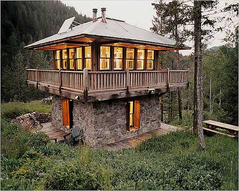 Modern Day Mountain Cabins