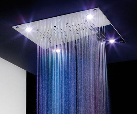 luxurious shower head Extreme Showerheads to Become Extinct