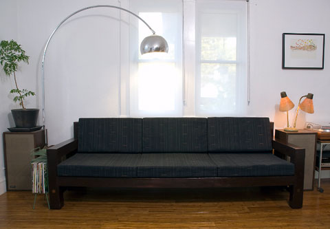 modern sofa design Born Again: Refurbishing a Handcrafted Family Sofa
