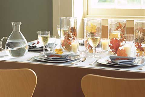 modern thanksgiving table Thanksgiving Table Inspiration