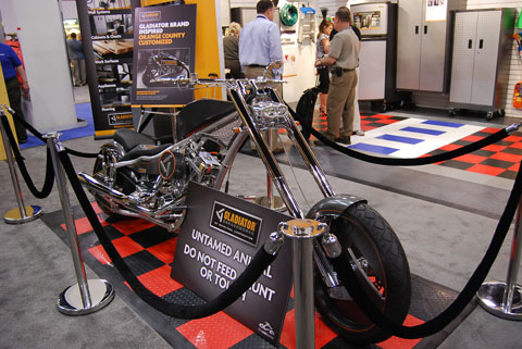motorcycle orange county choppers Trucks, Motorcycles and NASCAR at the National Hardware Show