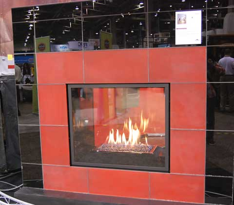 napoleon big red 15 Fireplaces at the 2010 Builders Show