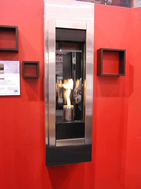 napoleon fire red 15 Fireplaces at the 2010 Builders Show