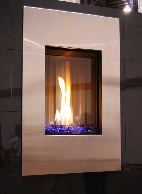 napoleon fireplace blueston 15 Fireplaces at the 2010 Builders Show
