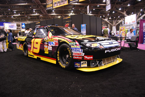 nascar stanley Trucks, Motorcycles and NASCAR at the National Hardware Show