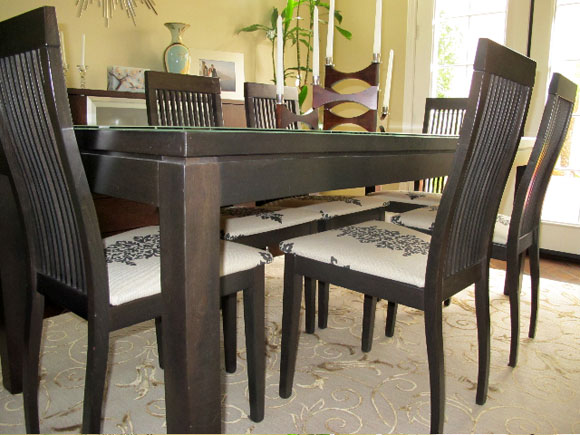 new chairs Reupholster Your Dining Room Chairs