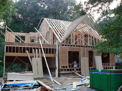 New Home Construction Slowing
