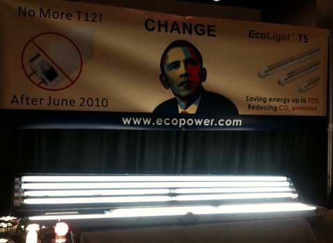 obama lighting 7 Unexpected Things at Builders Show 2010