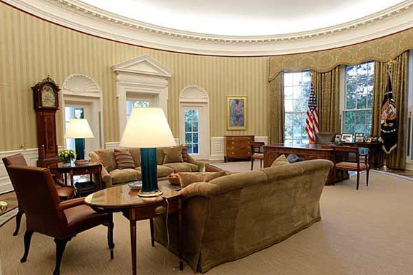 Oval Office Has A New Look