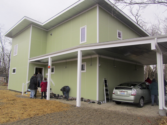 passive house exterior Ohios First Passive House: The Walking Tour