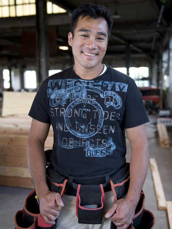 Peter Wong is the HGTV All American Handyman