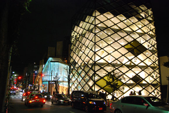 prada building tokyo Praying for Japan