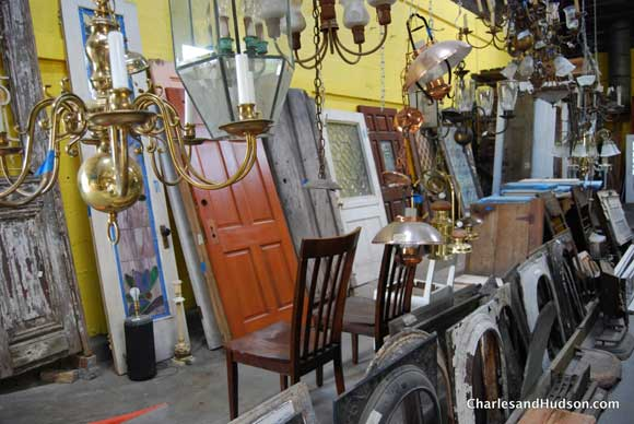 Exploring the Salvage Stores in the Reuse District of New Orleans