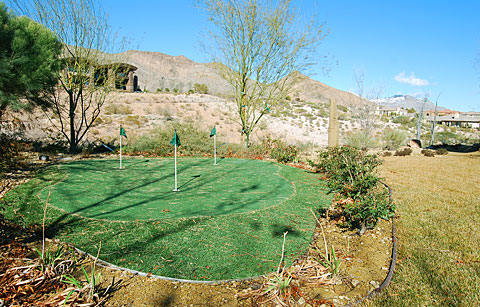 Build Your Own Backyard Putting Green