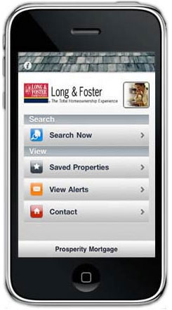 real estate app iPhone/iPad App for Real Estate Search
