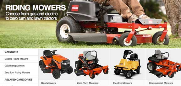 riding mowers home depot John Deere Riding Mowers at Home Depot