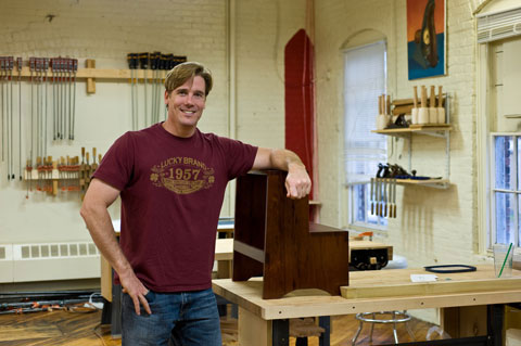 Tommy Mac – Woodworker & Host of Rough Cut