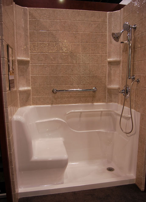 safety tub shower bath Safety Tubs Bring Universal Design to the Bathroom