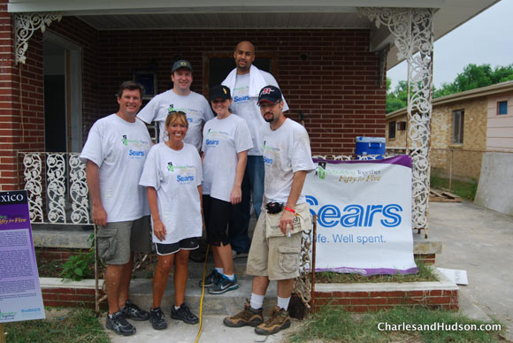 sears rebuilding together fifty for five Rebuilding Together with Sears at Fifty for Five