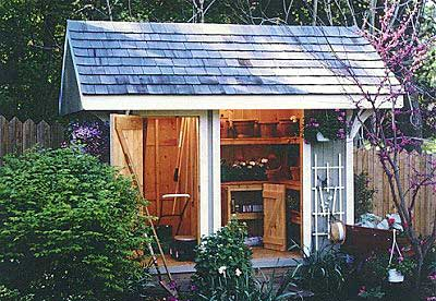 shed Use Wasted Space: Install your Shed on a Slope