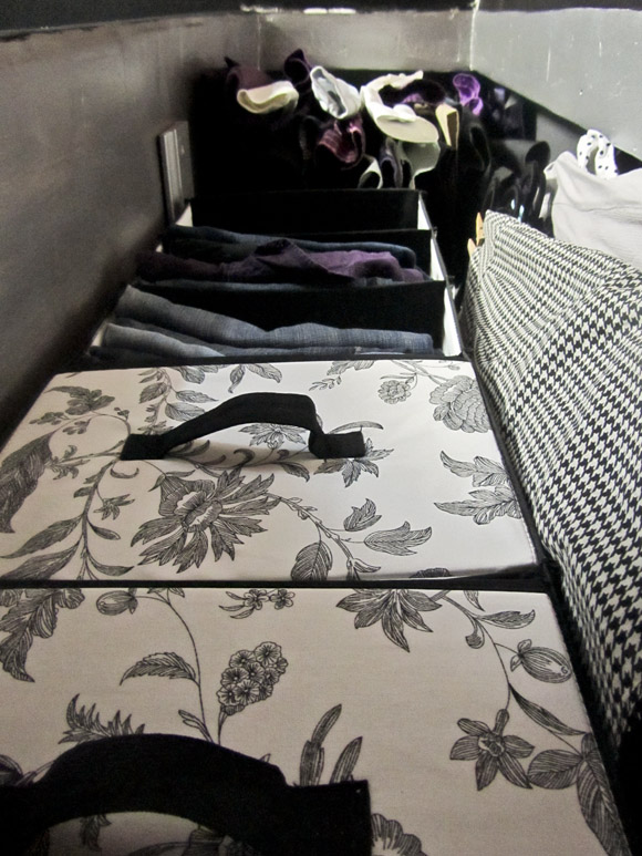 small closet upshot Small Space Solutions: Tiny & Tall Closets