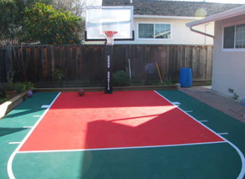 snapsports outdoor courts Backyard Courts and Surfaces from SnapSports