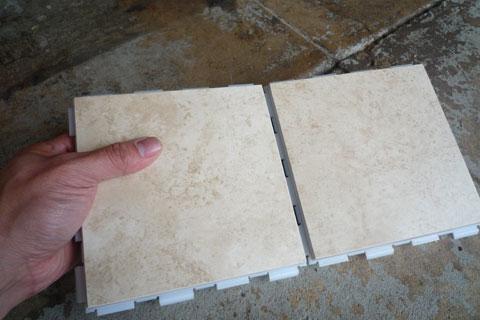 Floor Tiles Interlocking Ceramic Floor Tiles - Click together tile ceramic floor tiles