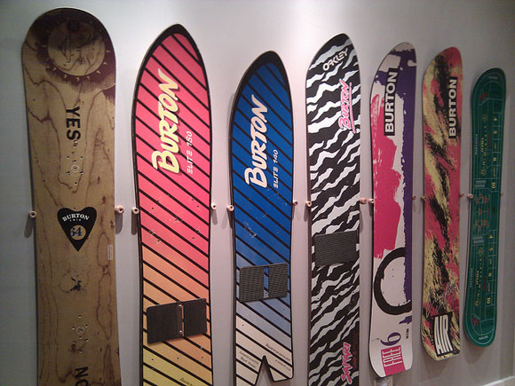 Display a Snowboard on the Wall