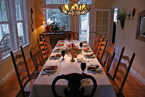 The Thanksgiving Table Seating Chart