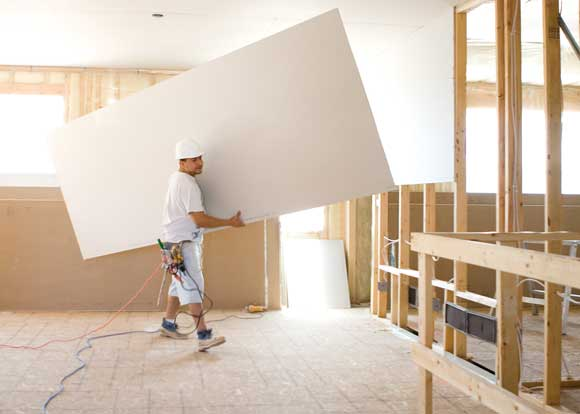 Drywall Gypsum Walls : Ultralight sheetrock drywall panels from usg