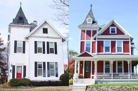 Extreme Curb Appeal, Part 2: Can (or should) Vinyl Siding Become Brick?