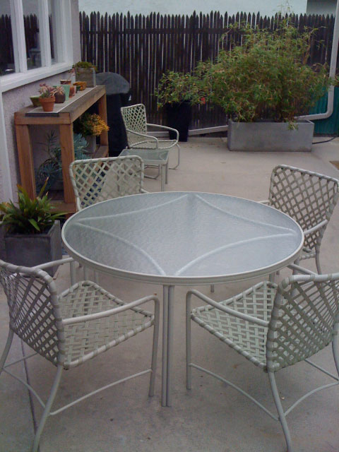vintage outdoor furniture refurbished Go Vintage for Quality Outdoor Furniture