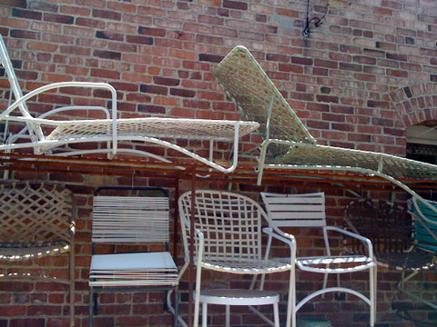 vintage outdoor furniture Go Vintage for Quality Outdoor Furniture