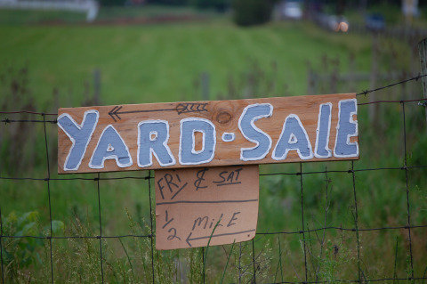 Discover Treasures for Your Home at Yard Sales